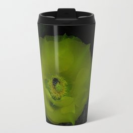 The Flower and the Bee Travel Mug