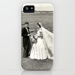 The Kennedys' Wedding iPhone Case