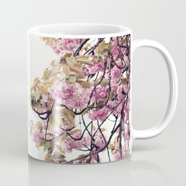 Cherry blossoms in Paris, Eiffel Towerr Coffee Mug