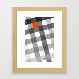 Hashes Framed Art Print