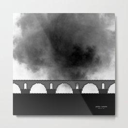 HexArchi - Portugal, Ponte de Lima, Ponte Romana Metal Print