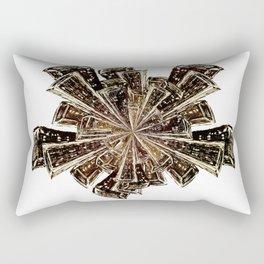 Around We Go Cityscape Rectangular Pillow