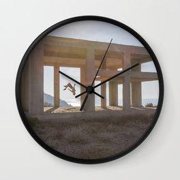 Freerun Santorini  Wall Clock