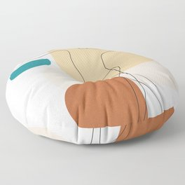 Summer Dance I Floor Pillow