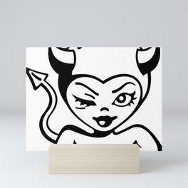 Devilish Mini Art Print