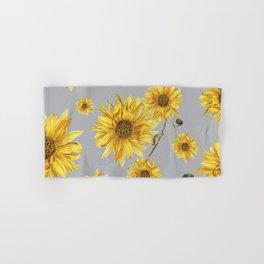 Sunflower Pattern 5 Hand & Bath Towel