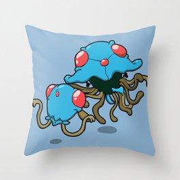 Pokémon - Number 72 & 73 Throw Pillow