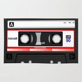 Retro audio cassete Rug