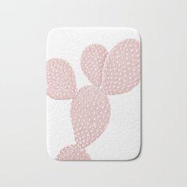 Blush Pink Cactus Bath Mat