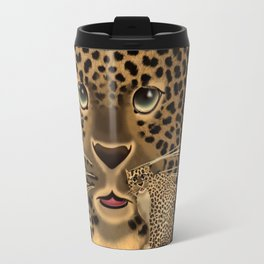 Leopard Spots Travel Mug
