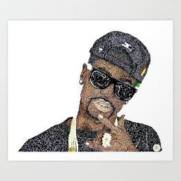 Big Sean Art Print