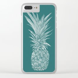Pineapple : Le Canard Clear iPhone Case