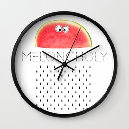 Meloncholy Wall Clock