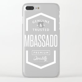 Ambassador - Copy Clear iPhone Case