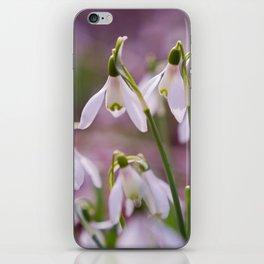 Snowdrops iPhone Skin