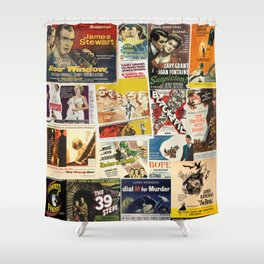 Alfred Hitchcock 2 Shower Curtain