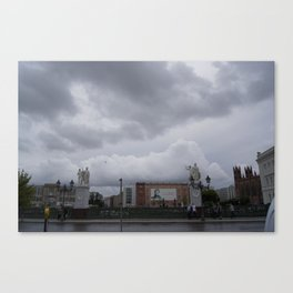 Berlin clouds Canvas Print