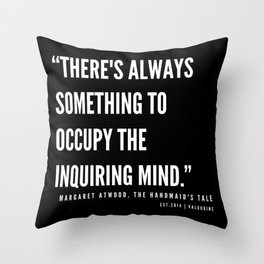 46  | The Handmaid's Tale Quote Series  | 190610 Throw Pillow