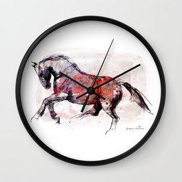 Horse (Dziki/Wild) Wall Clock