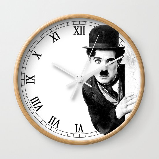 MR CHAPLIN Wall Clock