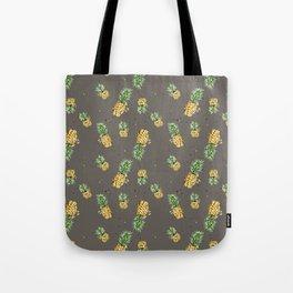 Kaki pineapple pattern Tote Bag
