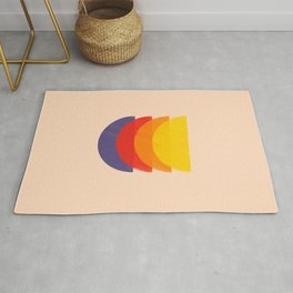 colors records Rug