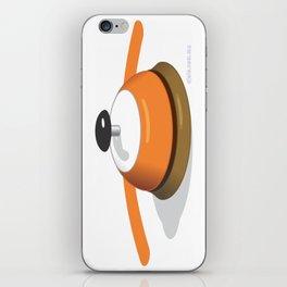 rec.eye.ption iPhone Skin