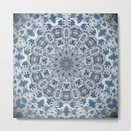 Ava Mandala Design Metal Print