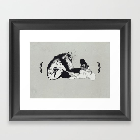 checkmate Framed Art Print