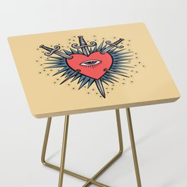 Three of Swords Side Table