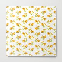 Japanse sunflower pattern no.1 Metal Print