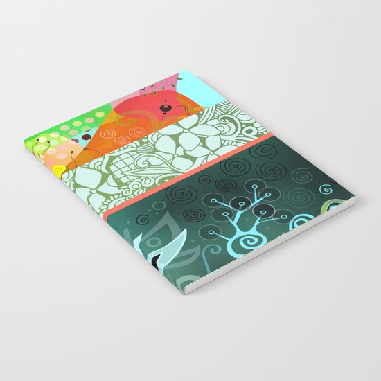 Designmix_green Notebook