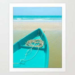 To Sea Art Print