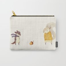 The Last Acorn of Autumn Carry-All Pouch
