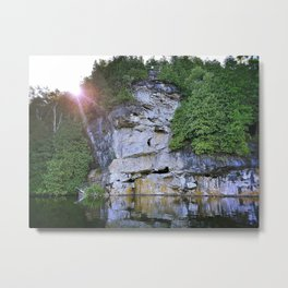 Sunrise at Rockwood Metal Print