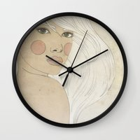 argentina Wall Clocks featuring Querida Argentina by konem