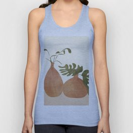 Two Living Vases Unisex Tank Top