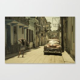 Street Señorita  Canvas Print