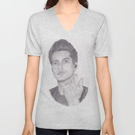 brendon urie (without background) Unisex V-Neck