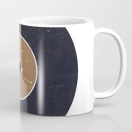 Vinyl Record Star Sign Art   Gemini Coffee Mug