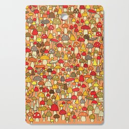 Mouse among mushrooms Cutting Board