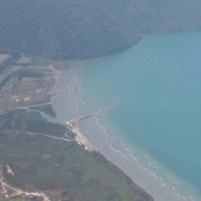 The Gulf of Gökova and Akyaka Town Leggings