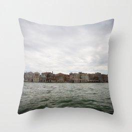 Venezia dal Mare Throw Pillow