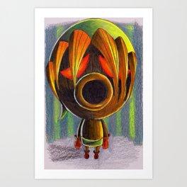 Deku Scrub Link Art Print