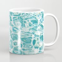swim Mugs featuring Swim by Melanie Alexandra
