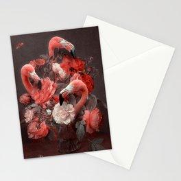 FLAMINGOS & FLOWERS Stationery Cards