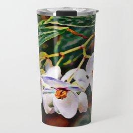 Brazilian Lady - Angel Wing Begonia Plant | Painting Travel Mug