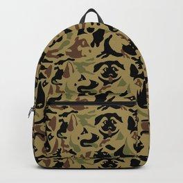 German Shepherd Camouflage Backpack