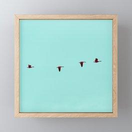 Take Flight - Wild Goose Chase Framed Mini Art Print