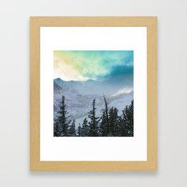 Rock Candy Mountain Framed Art Print